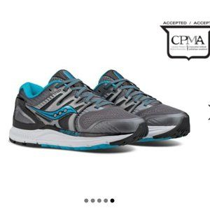 Saucony Redeemer ISO 2 Wide Grey Blue Size 7.5